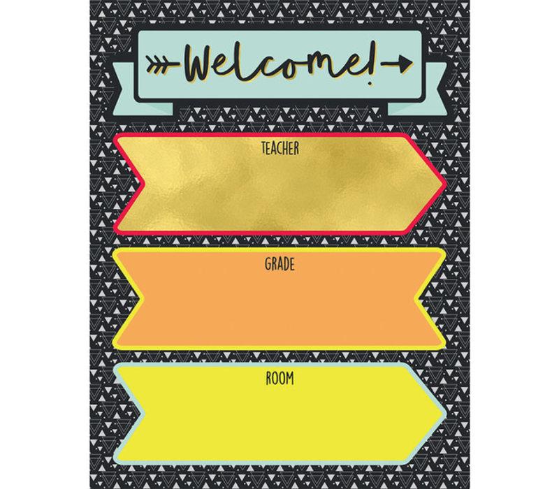 Aim High Welcome Chart