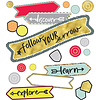 Carson Dellosa Aim High Follow Your Arrow Mini Bulletin Board Set