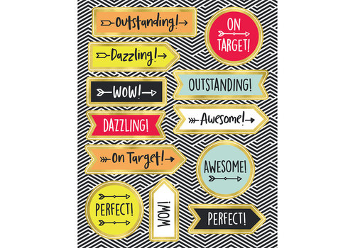 Carson Dellosa Aim High Motivators Motivational Stickers