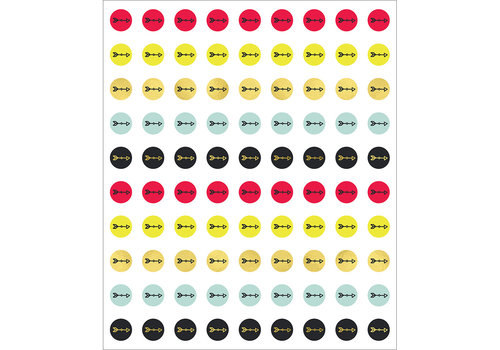 Carson Dellosa Aim High Chart Seals