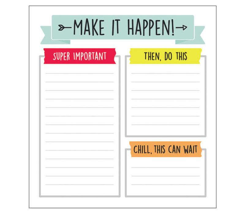 Aim High Notepad *