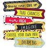 Carson Dellosa Aim High Banners Mini Cut-Outs