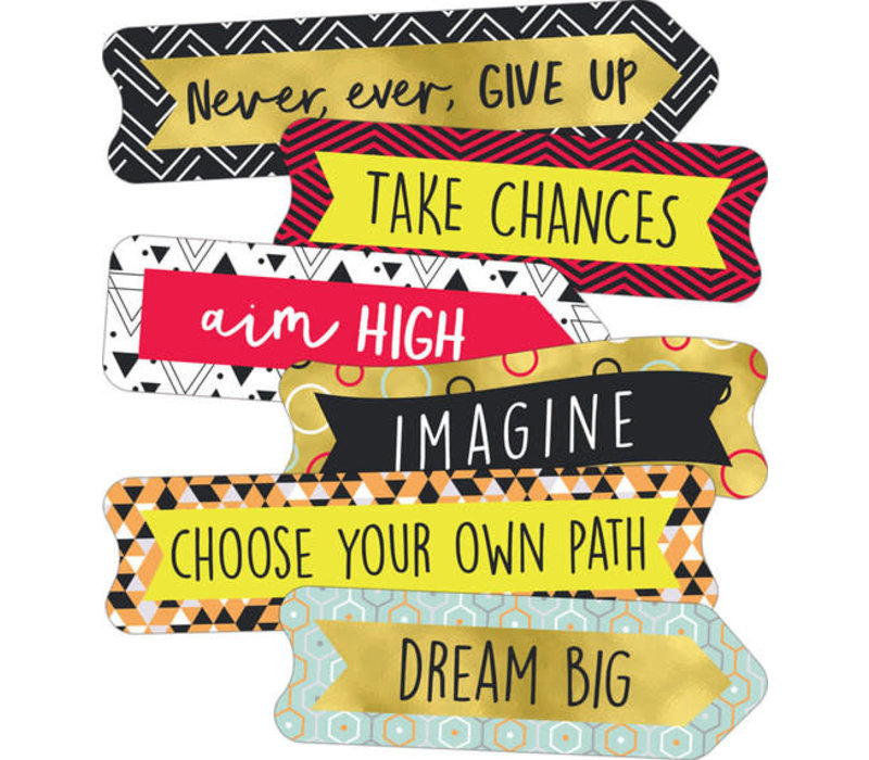 Aim High Banners Mini Cut-Outs