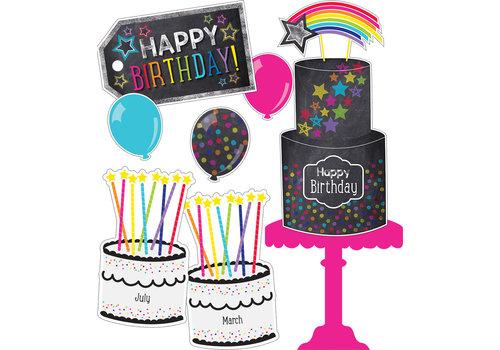 Carson Dellosa Twinkle You're a STAR Birthday Bulletin Board Set