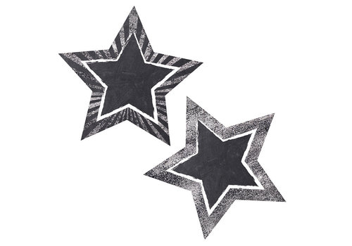 Carson Dellosa Twinkle You're a STAR Chalkboard Star Cut Outs