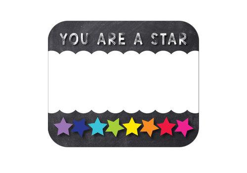 Carson Dellosa You Are a Star Name Tags