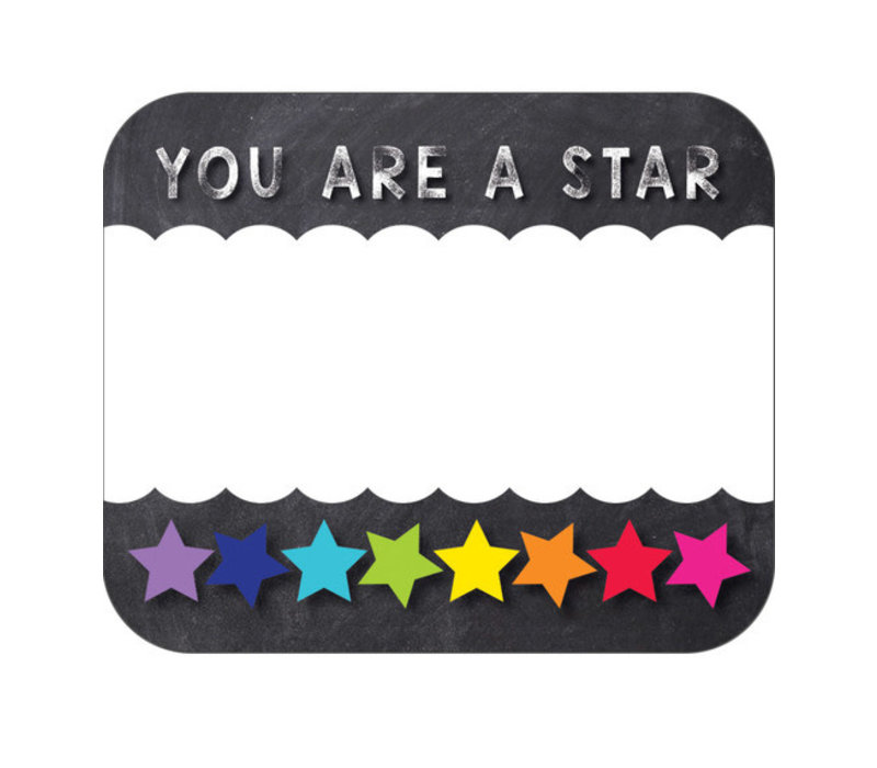 You Are a Star Name Tags *