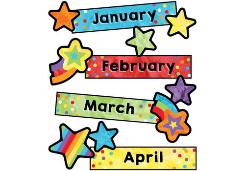 Carson Dellosa Celebrate Learning Months of the Year Mini Bulletin Board Set Grade PK-5