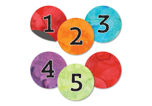 Carson Dellosa Celebrate Learning Numbers Magnetic Cut-Outs