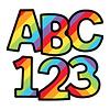 Carson Dellosa Rainbow Stripe Combo Pack EZ Letters