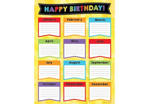 Carson Dellosa Celebrate Learning Birthday Chart