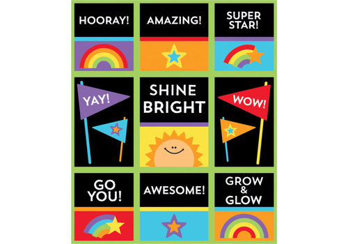 Carson Dellosa Celebrate Learning Prize Pack Stickers