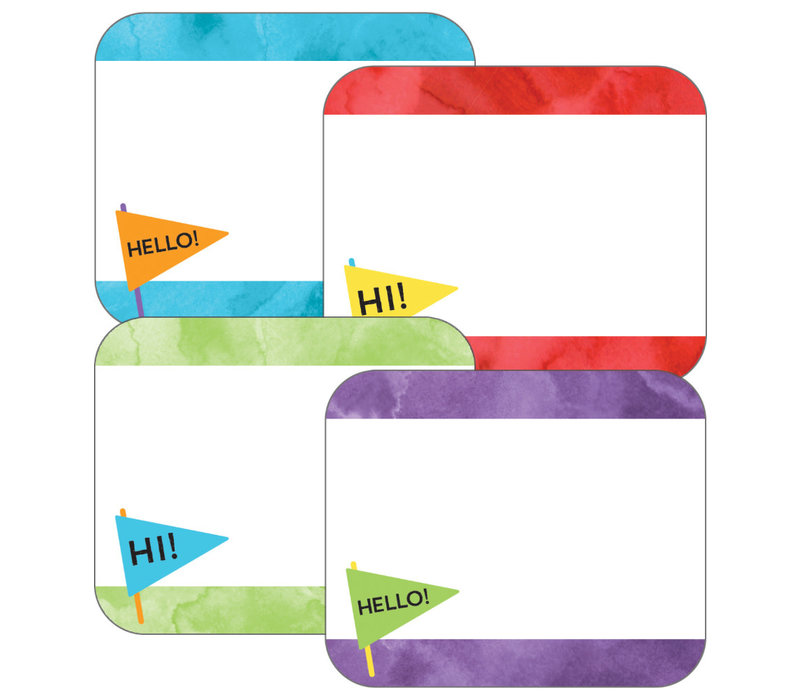 Celebrate Learning Name Tags *