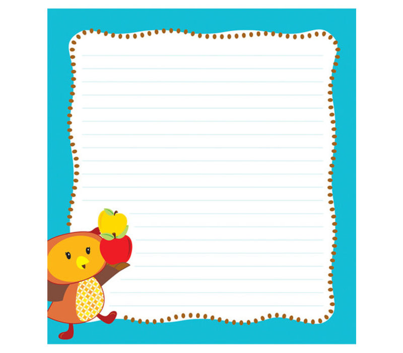 Fall Fun Notepad