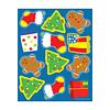 Carson Dellosa Shape Stickers Holiday