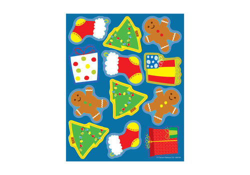 Carson Dellosa Shape Stickers Holiday