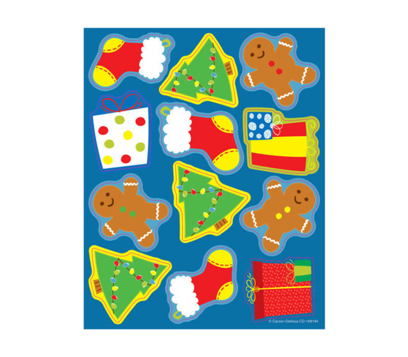Shape Stickers Holiday