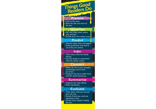 Carson Dellosa Things Good Readers Do Bookmarks