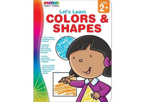 Carson Dellosa Colors & Shapes Book Ages 2+