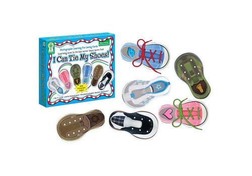 Carson Dellosa I Can Tie My Shoes Activity Set