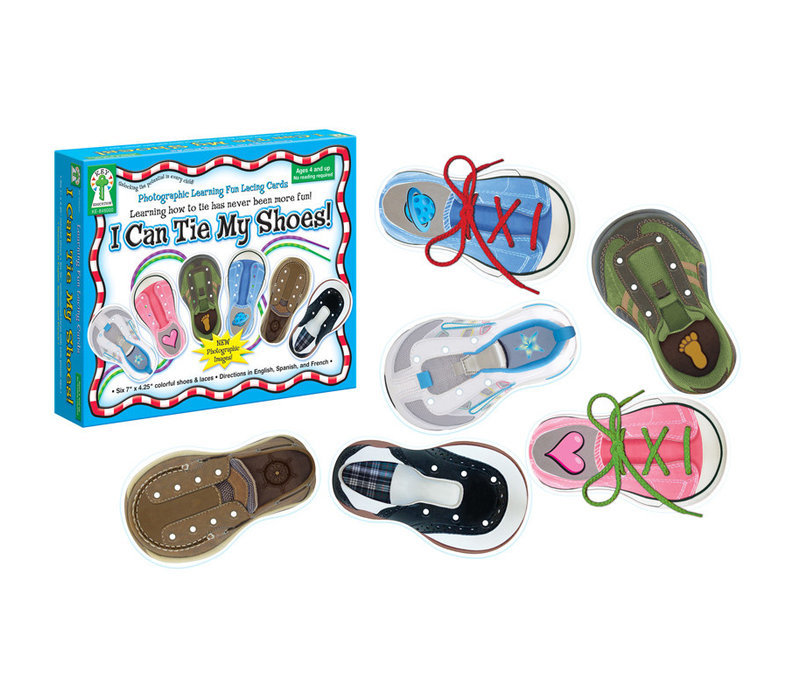 I Can Tie My Shoes Activity Set