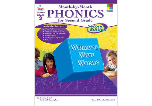 Carson Dellosa Month-by-Month Phonics for Second Grade