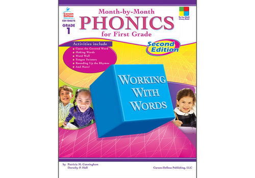 Carson Dellosa Month-by-Month Phonics for First Grade