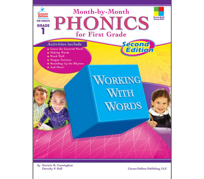Month-by-Month Phonics for First Grade