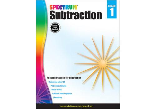 Carson Dellosa Spectrum Subtraction, Grade 1