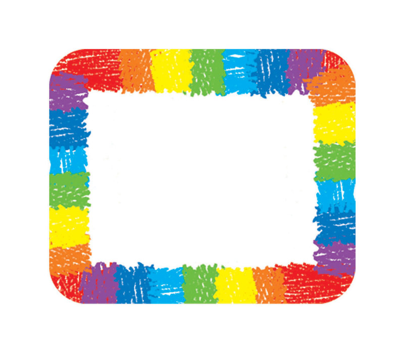 Rainbow Name Tags