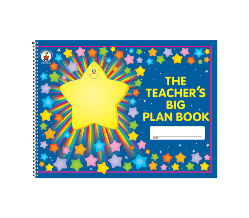 Teachers Big Plan Book