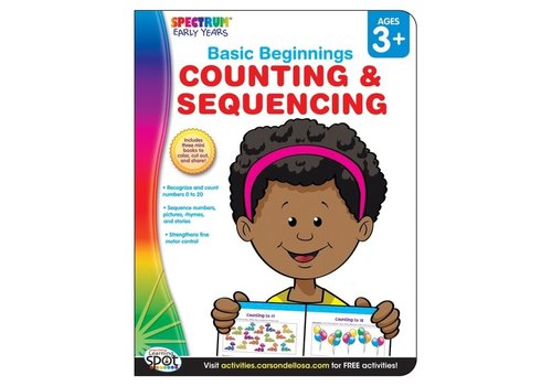 Carson Dellosa Counting and Sequencing Ages 3+