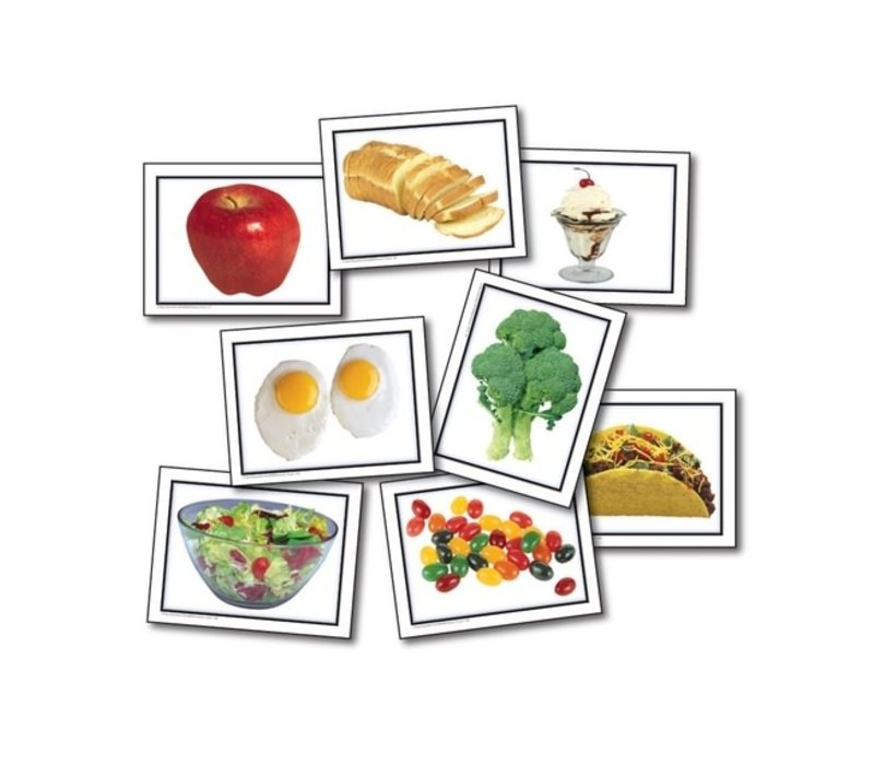 Nouns: Food Learning Cards*