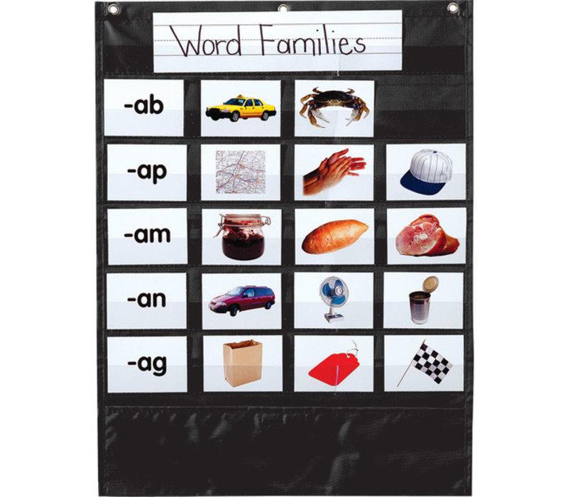 Mini Essential Pocket Chart, Black