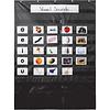 Carson Dellosa Essential Pocket Chart, Black