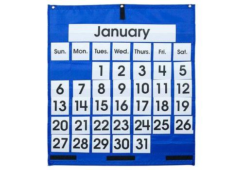 Carson Dellosa Monthly Calendar Pocket Chart