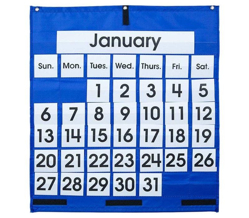 Monthly Calendar Pocket Chart