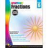 Carson Dellosa Spectrum Fractions Workbook, Grade 6