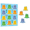 Carson Dellosa FUNky Frogs Shape Stickers