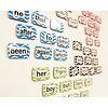 ASHLEY PRODUCTIONS Magnetic Die-Cut Sight Words, 1st 100 Words, Level 1 *