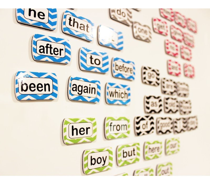 Magnetic Die-Cut Sight Words, 1st 100 Words, Level 1 *
