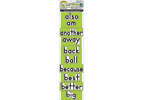 ASHLEY PRODUCTIONS Magnetic Word Wall Sight Words Level 2