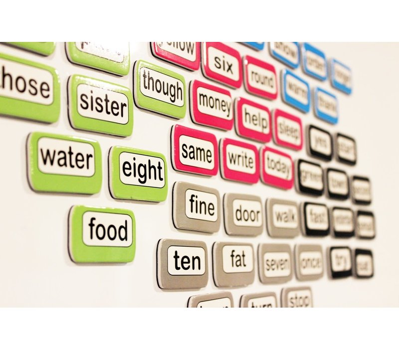 Magnetic Die-Cut Sight Words, 3rd 100 Words, Level 3 *