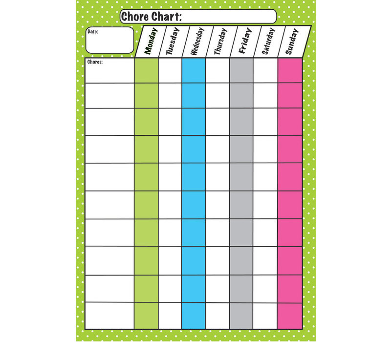 Magnetic Chore Chart, Chores *