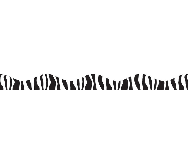 ZEBRA MAGNETIC BORDER 12FT  (D) *