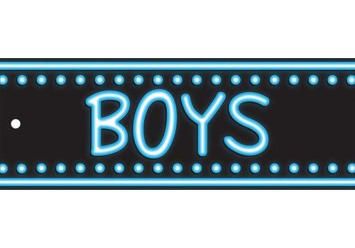 ASHLEY PRODUCTIONS Neon Boys Laminated Pass