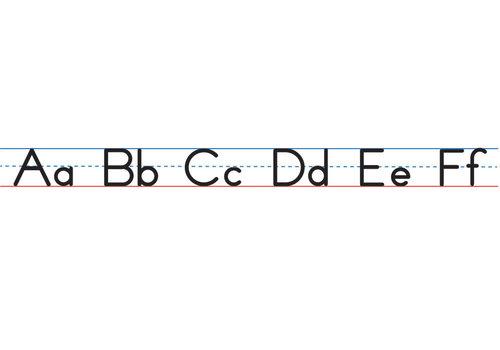 ASHLEY PRODUCTIONS Magnetic Manuscript Alphabet Lines, Large *