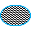 ASHLEY PRODUCTIONS Magnetic Whiteboard Eraser, Chevron