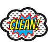 ASHLEY PRODUCTIONS Magnetic Whiteboard Eraser CLEAN! *