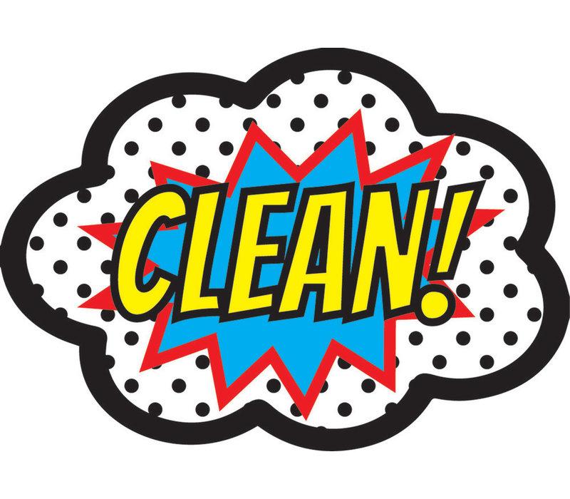 Magnetic Whiteboard Eraser CLEAN! *